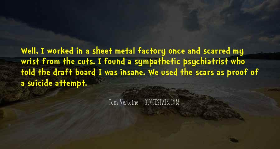 Scars Are Proof Quotes #1289505