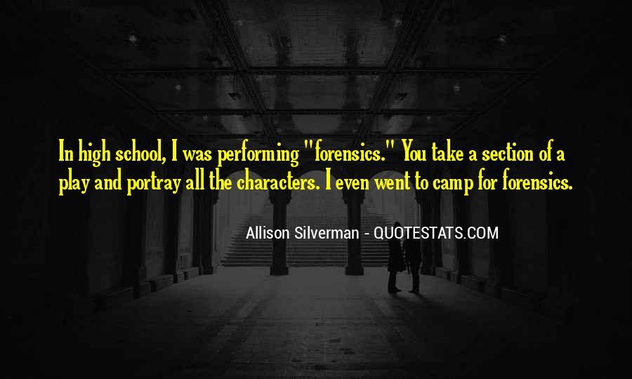 School Camp Quotes #16739