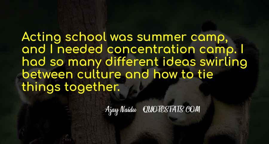 School Camp Quotes #1682647