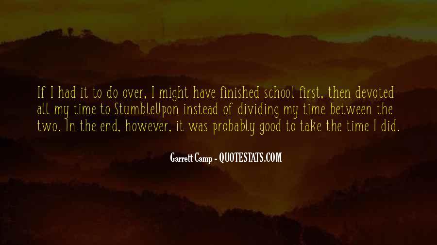 School Camp Quotes #722233