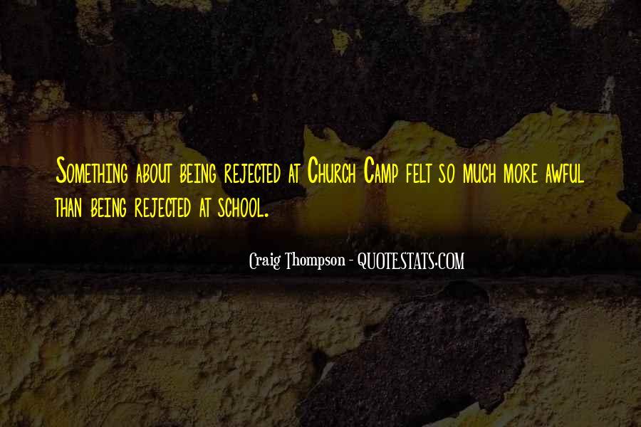 School Camp Quotes #901001