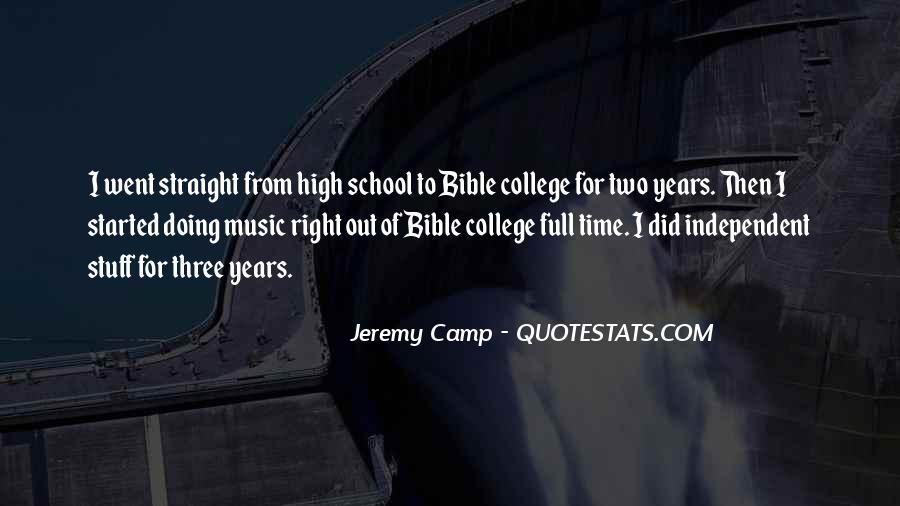 School Camp Quotes #921444