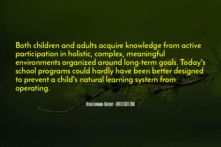 School Participation Quotes #234429