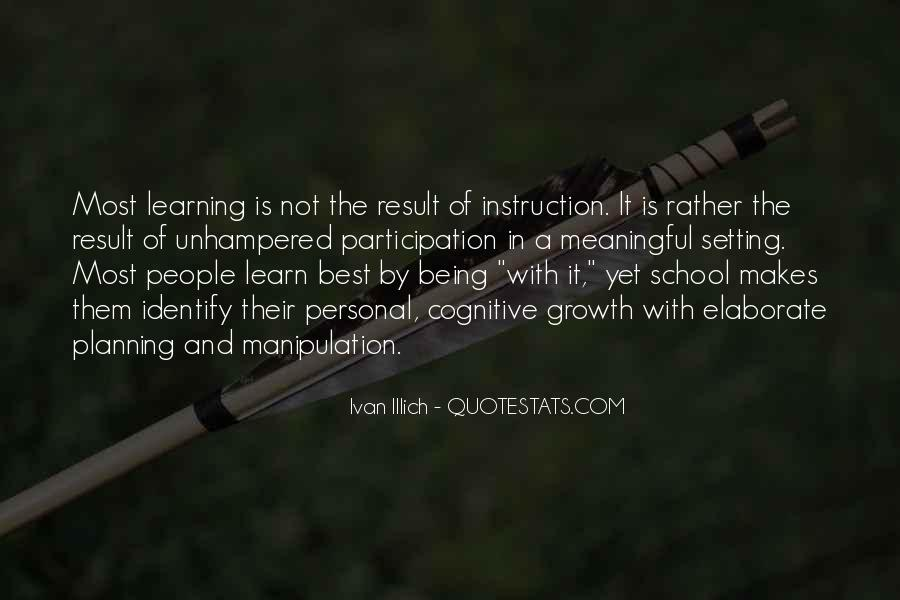 School Participation Quotes #551176