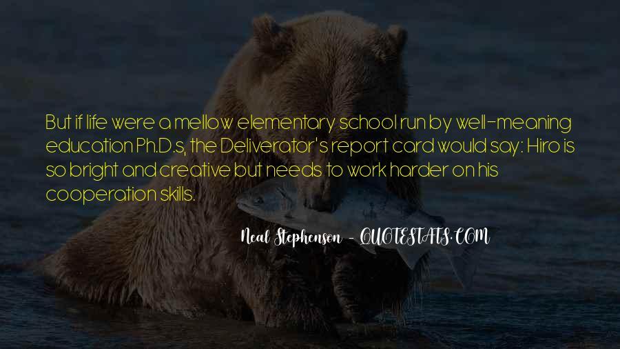 School Report Card Quotes #1430080