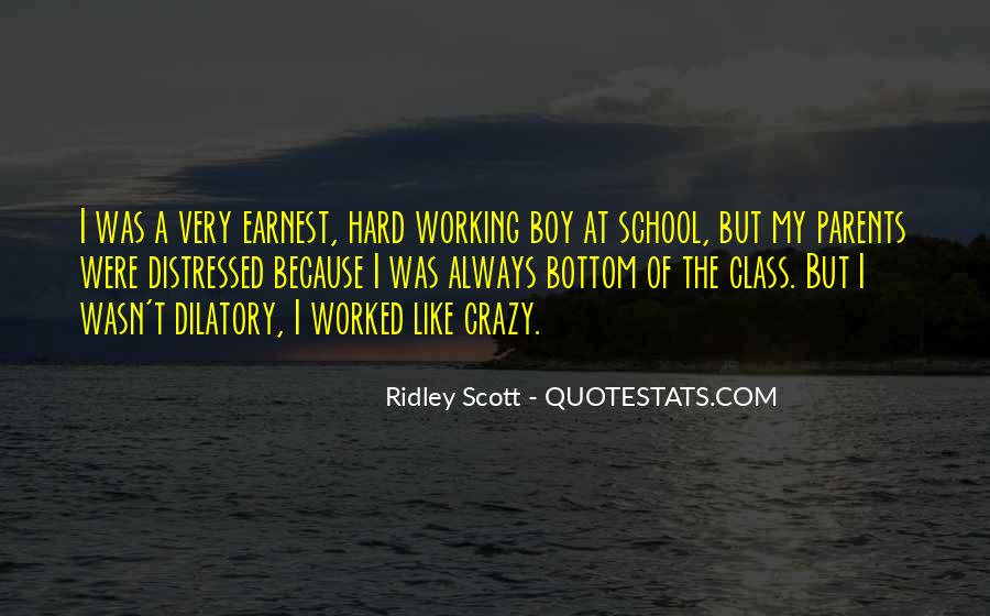 School Work Hard Quotes #1106854
