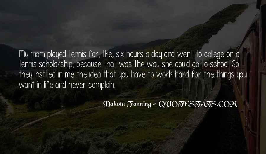 School Work Hard Quotes #1669149