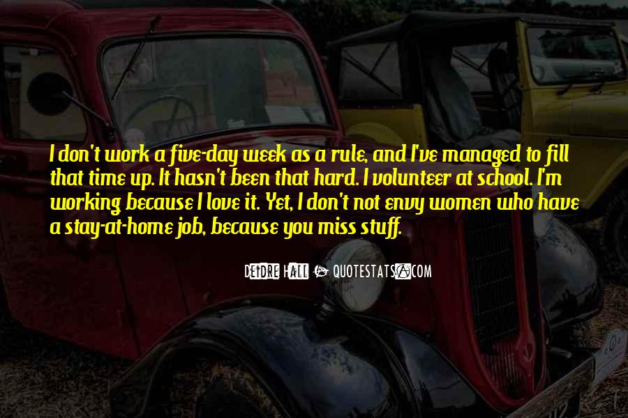 School Work Hard Quotes #1716016