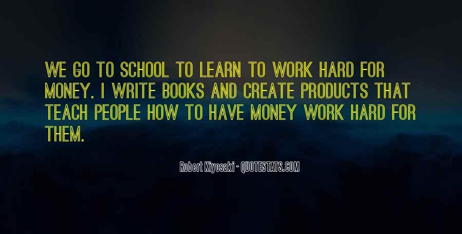 School Work Hard Quotes #19710