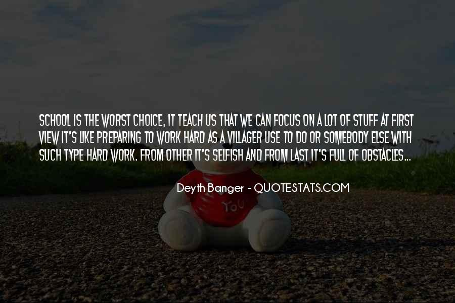 School Work Hard Quotes #371507