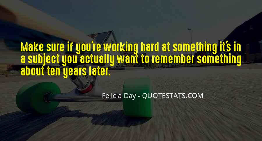 School Work Hard Quotes #438720