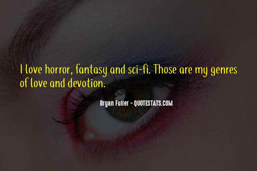 Sci Fi Love Quotes #1582867