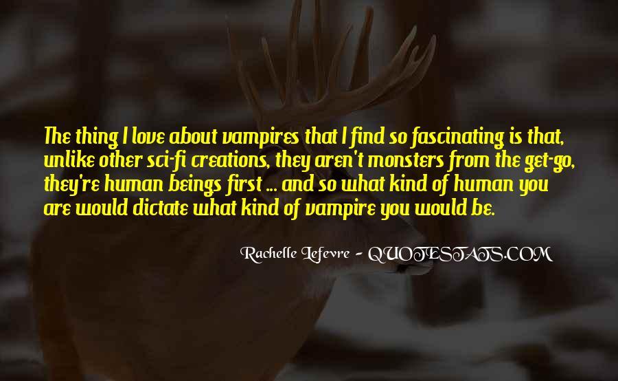 Sci Fi Love Quotes #1594371