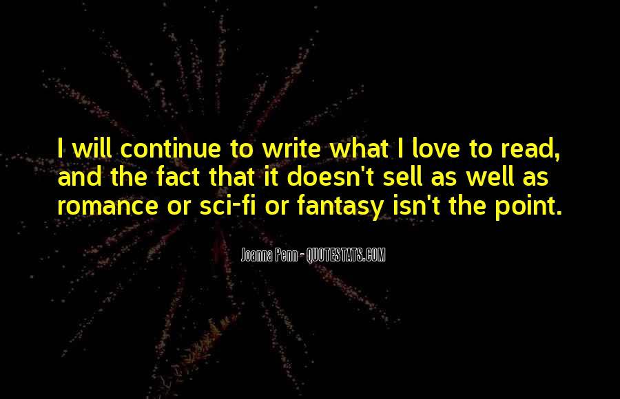 Sci Fi Love Quotes #362341