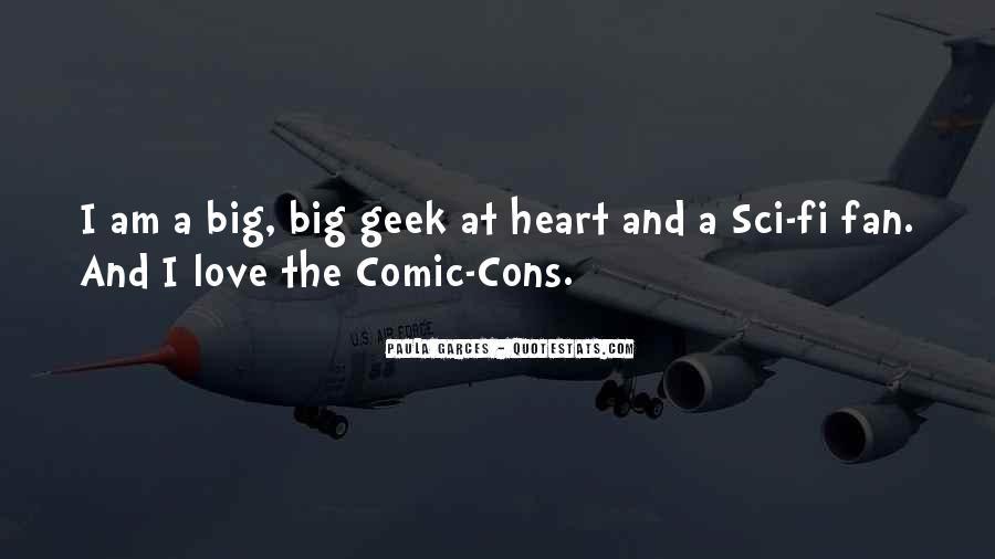 Sci Fi Love Quotes #531130