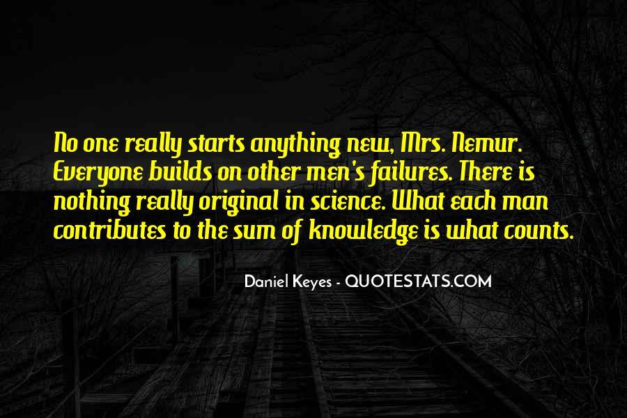 Science Failures Quotes #1825543