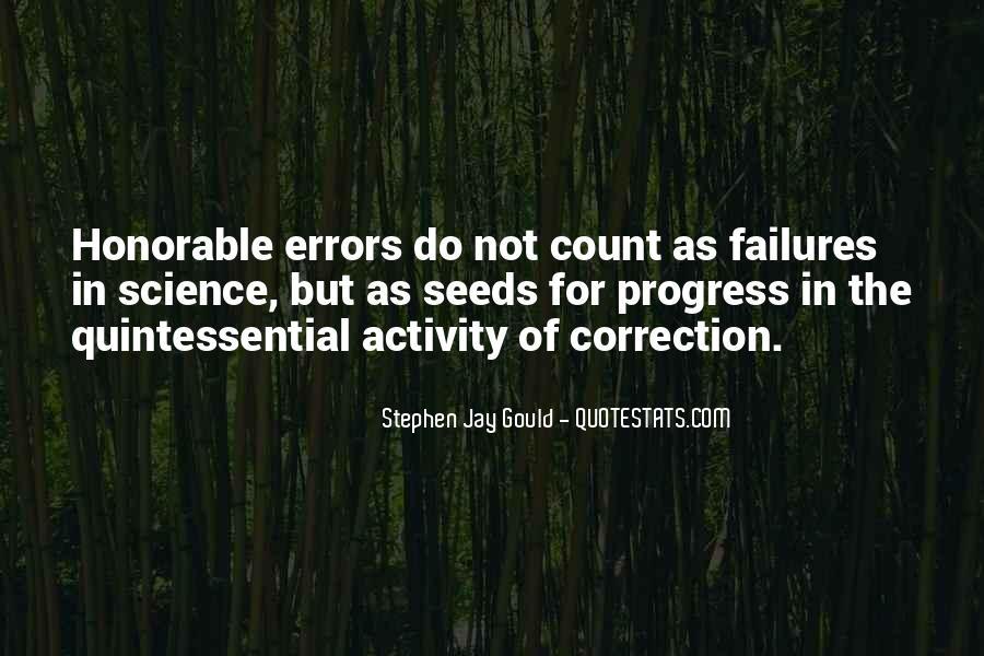 Science Failures Quotes #316078