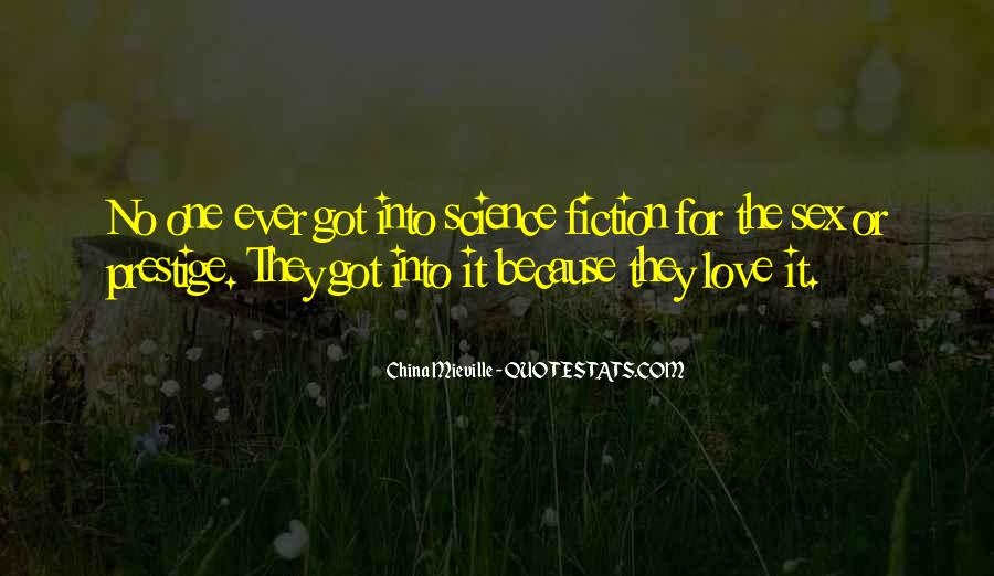 Science Fiction Love Quotes #130192
