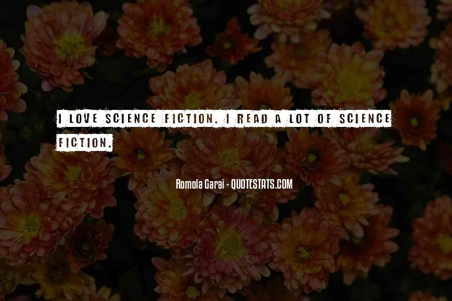 Science Fiction Love Quotes #137011