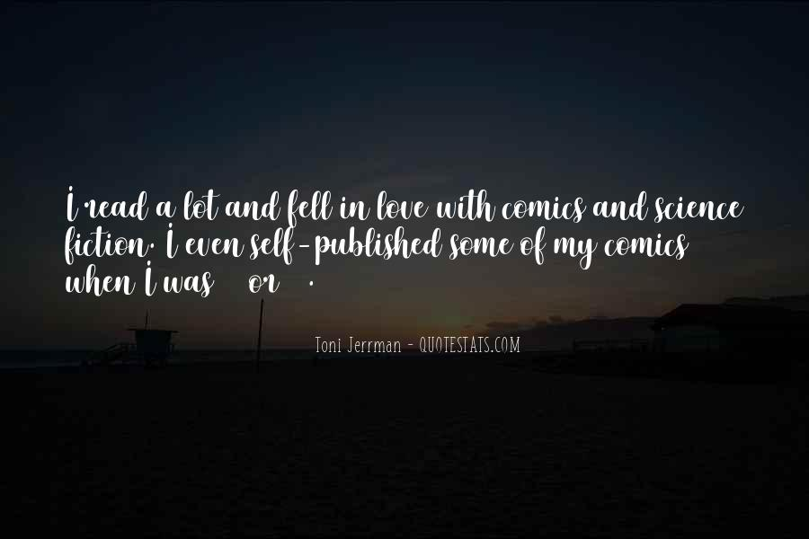 Science Fiction Love Quotes #310823