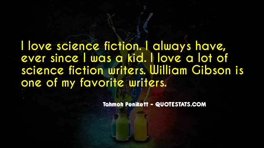 Science Fiction Love Quotes #434388