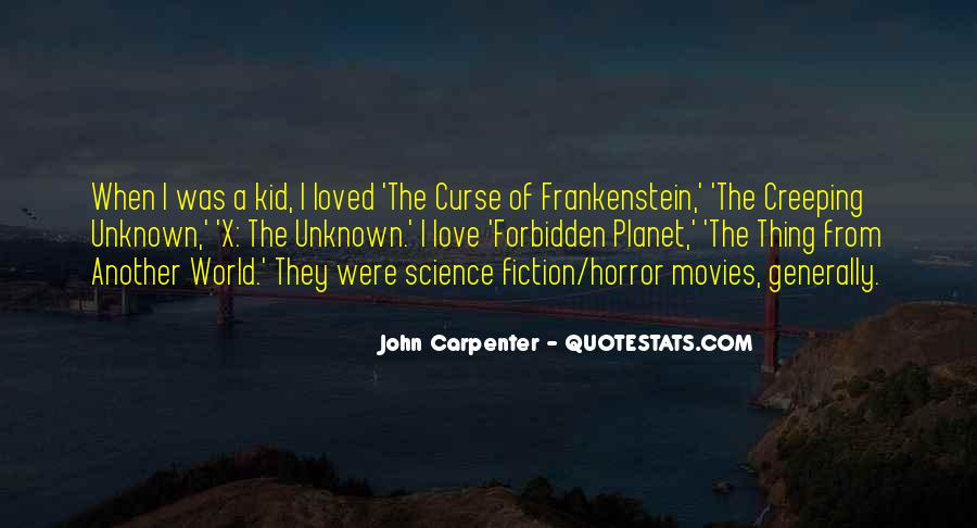 Science Fiction Love Quotes #601558