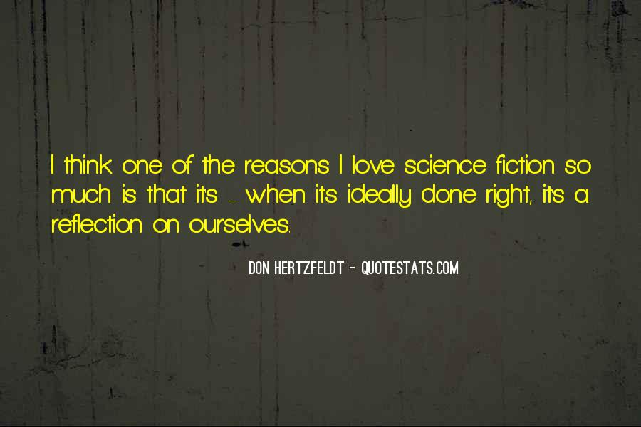 Science Fiction Love Quotes #657444
