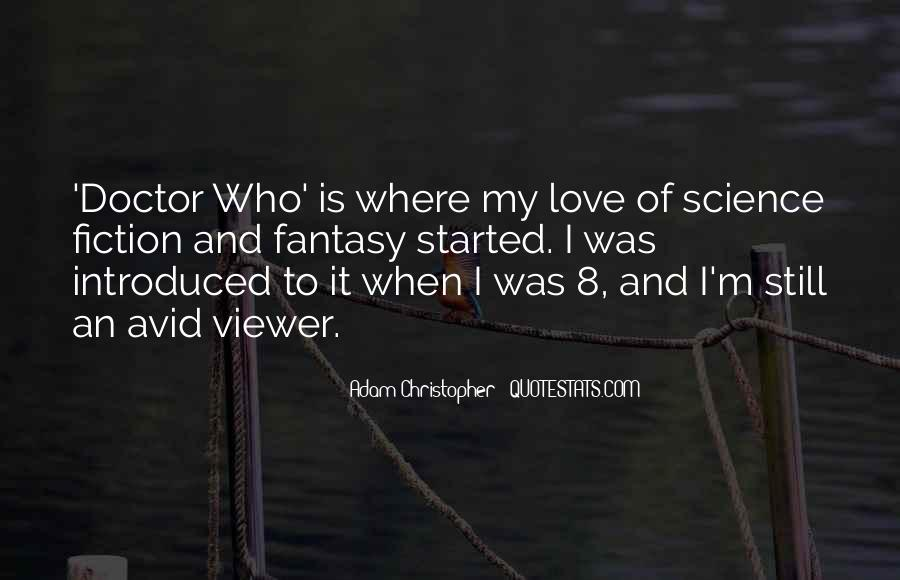 Science Fiction Love Quotes #657519