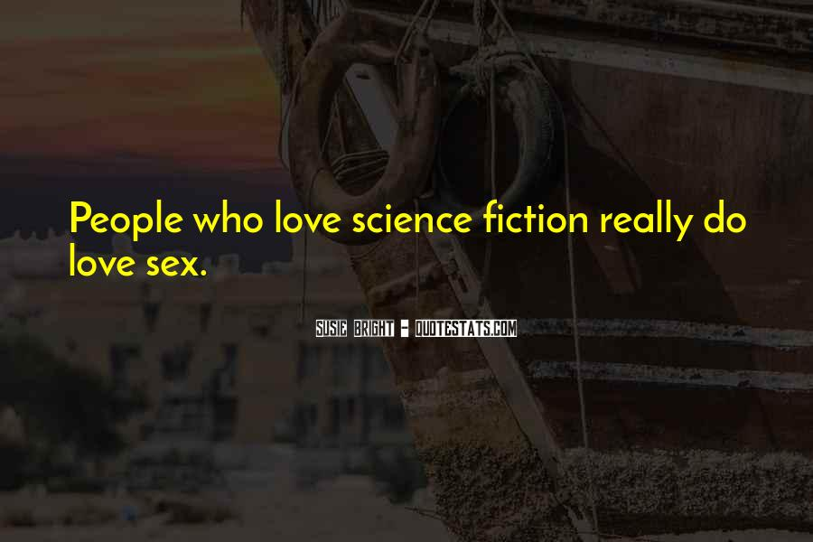 Science Fiction Love Quotes #724904