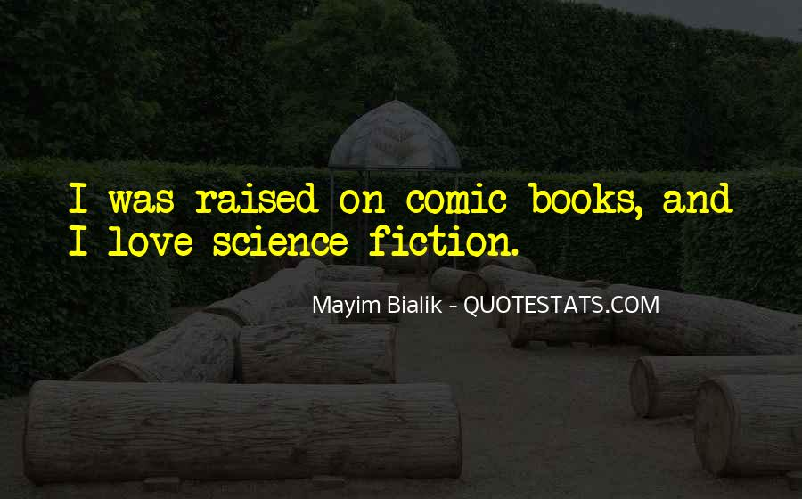 Science Fiction Love Quotes #929942