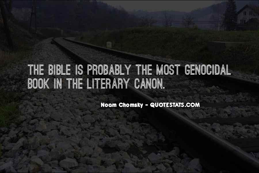 Quotes About Bible Genocide #210002