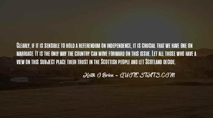 Scottish Independence Referendum Quotes #43506
