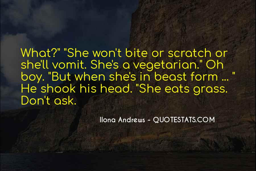 Scratch Your Head Quotes #1084300