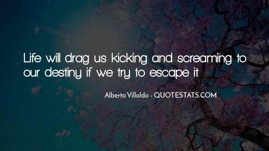 Screaming And Kicking Quotes #152147