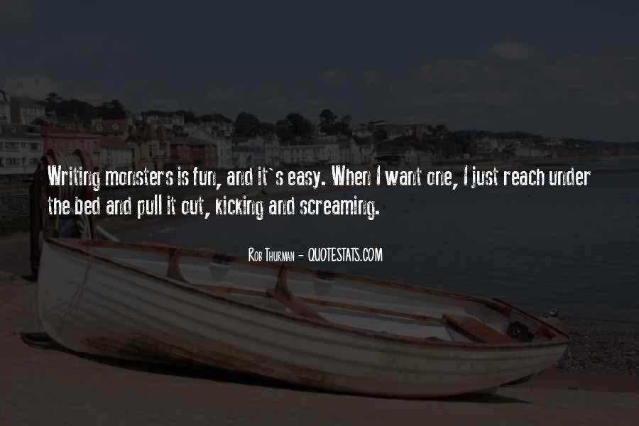 Screaming And Kicking Quotes #1783321