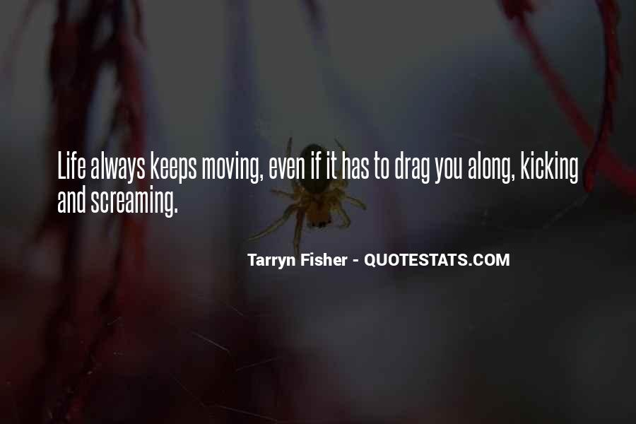 Screaming And Kicking Quotes #988183