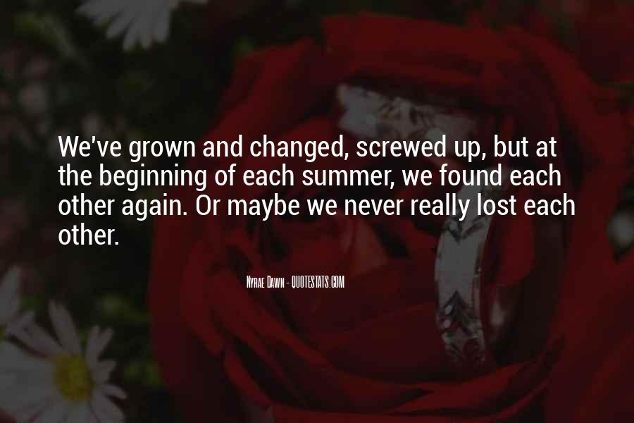 Screwed Up Again Quotes #666155