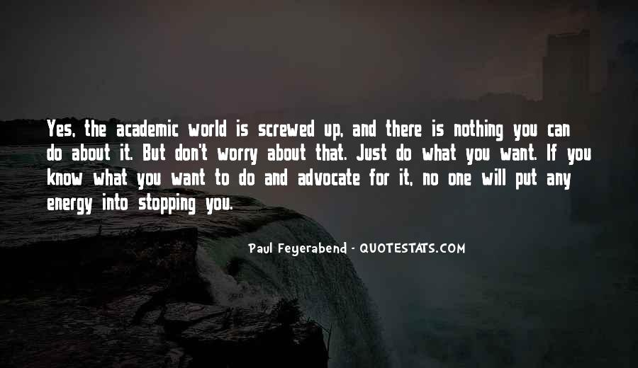 Screwed Up World Quotes #1563532