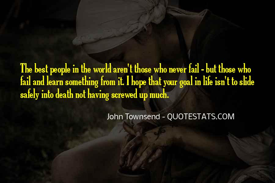 Screwed Up World Quotes #1672995