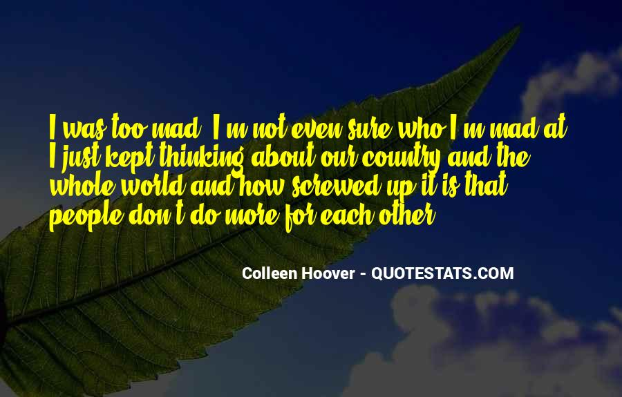 Screwed Up World Quotes #932377
