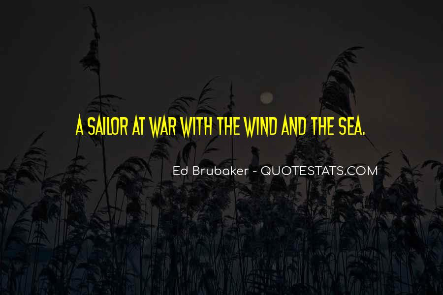 Sea And Sailor Quotes #1076375