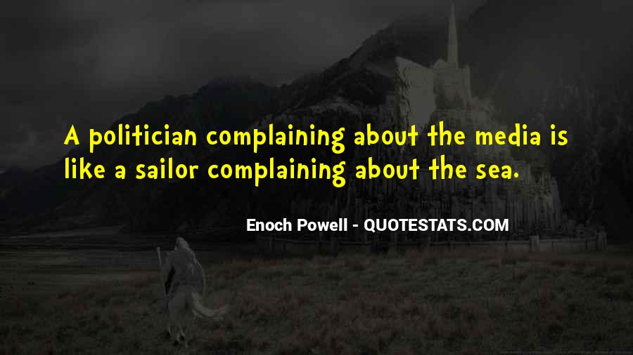 Sea And Sailor Quotes #1082159