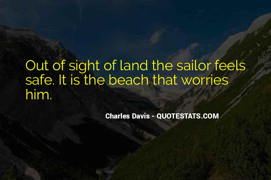 Sea And Sailor Quotes #123213