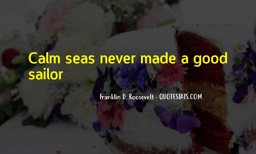 Sea And Sailor Quotes #1685377