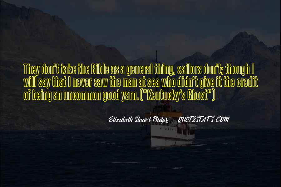 Sea And Sailor Quotes #1737235