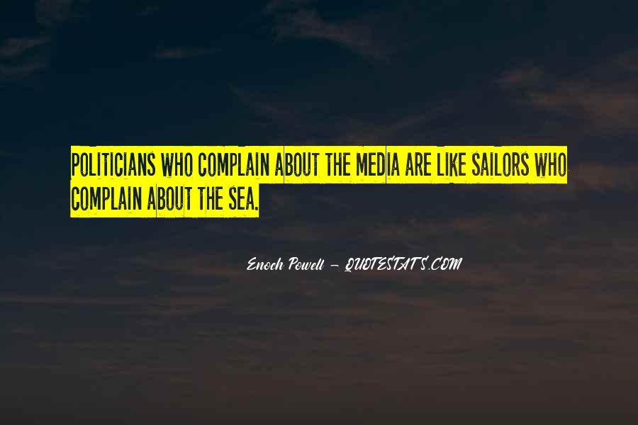Sea And Sailor Quotes #1790829