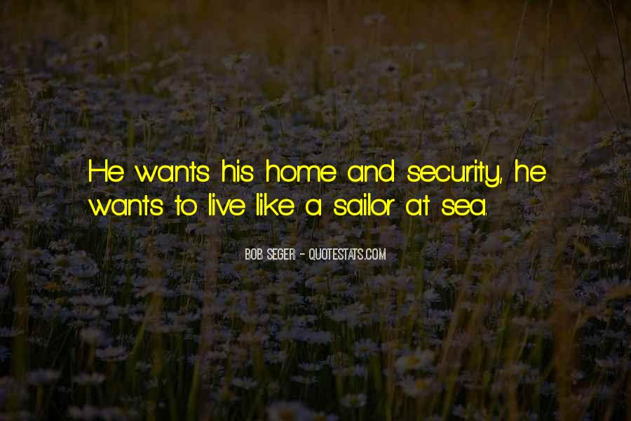 Sea And Sailor Quotes #842065