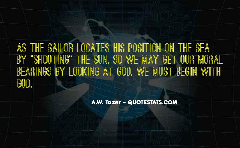 Sea And Sailor Quotes #975199