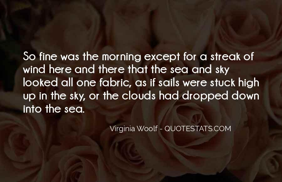 Sea And Sky Quotes #168245