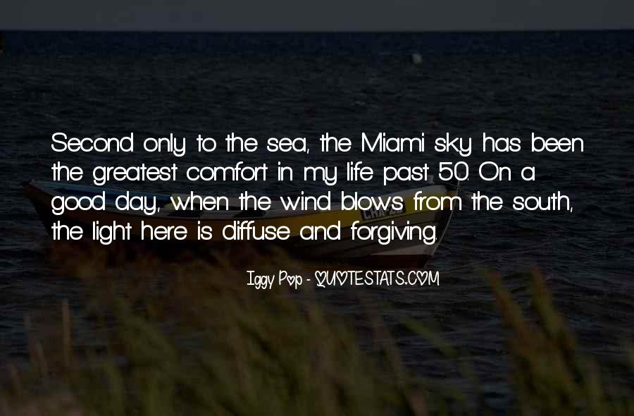 Sea And Sky Quotes #216149